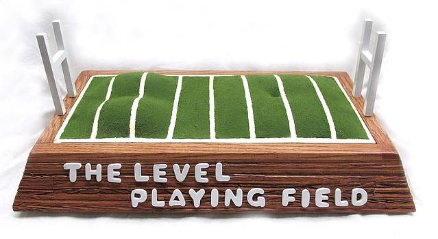 The Level Playing Field   #134 by Bill Czappa