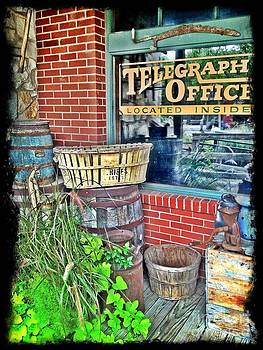 Telegraph Office by Patty Finney