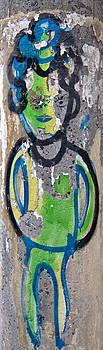 Julie Niemela - Telephone Pole Graffiti - Sao Paulo