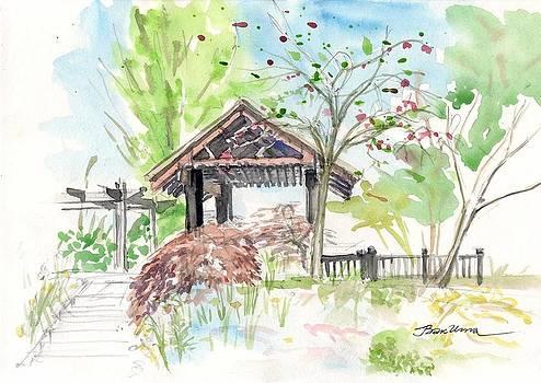 Telford. Cherry Garden by Bakhtiar Umataliev