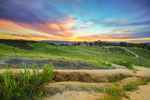Temecula Hills Sunset by Robert  Aycock