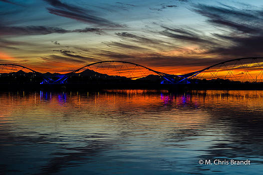 Tempe Town Lake by M Chris Brandt