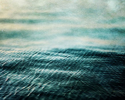 Lisa Russo - Tempest Ocean Landscape in Shades of Teal