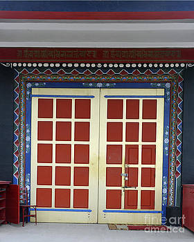 Temple Doors 2 by Minnie Lippiatt