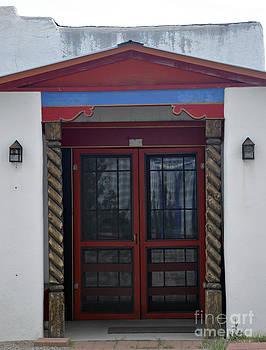 Temple Doors 3 by Minnie Lippiatt