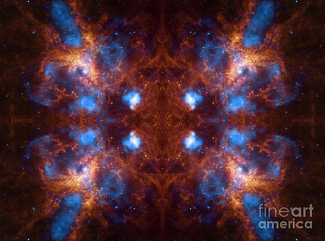 Temple Grande Abstract Space Art by Animated Sentiments