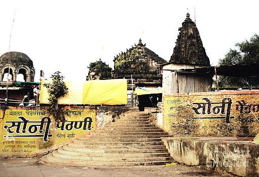 Sumit Mehndiratta - Temple in India