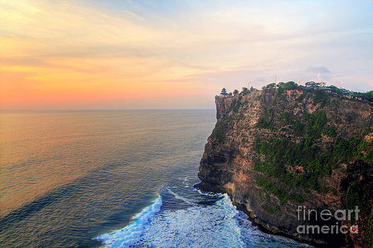 Temple in Uluwatu Bali  by Lars Ruecker
