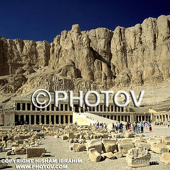 Temple of Hatshepsut - Valley of the Kings - Luxor - Egypt by Hisham Ibrahim