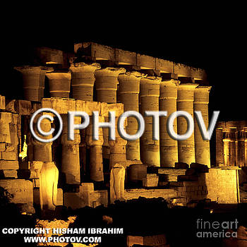 Temple of Luxor at night - Luxor - Egypt by Hisham Ibrahim