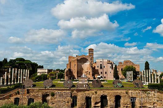 Temple of Venus and Roma in Rome by Luis Alvarenga