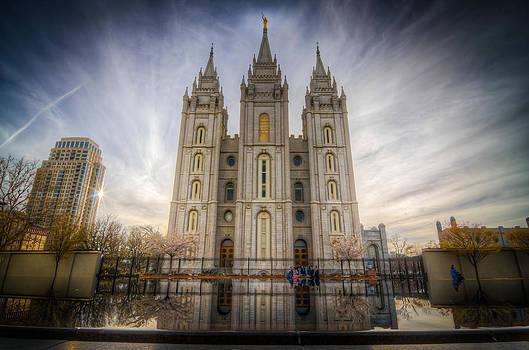 Temple Square by Nick  Cardona
