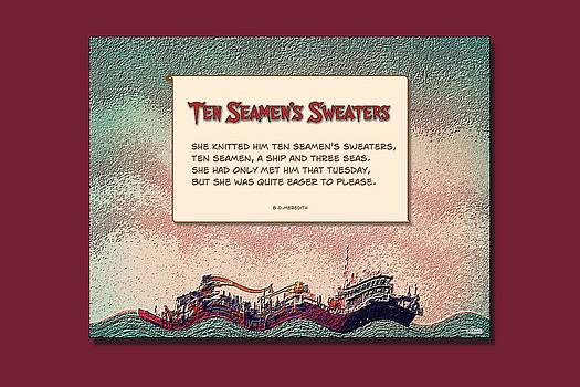 Ten Seamen's Sweaters by Brian D Meredith