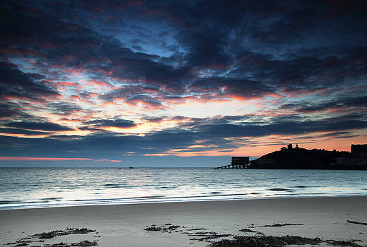 Tenby at Dawn by Simon West