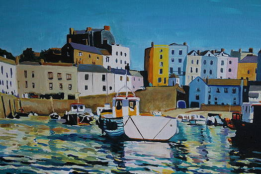 Tenby Tide by Emma Cownie