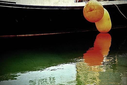 Marysue Ryan - Harbor boat scene The Tenders