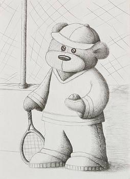 Jeanette K - Tennis Teddy