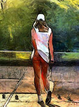 Tennis Temptation by Francisco Sanchez Salas