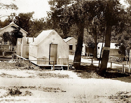 California Views Mr Pat Hathaway Archives - Tents in Retreat section of Pacific Grove, Calif.  near 18th Street Circa 1895