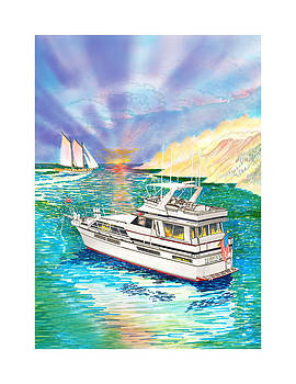 Jack Pumphrey - Terifico at anchor