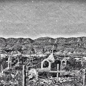 Terlingua Cemetery#terlinguatexas by Gia Marie Houck