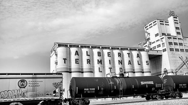 Terminal Cargo BW by Trever Miller