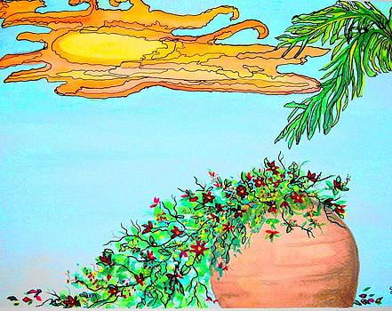 Terra Cotta Sun by Sharon Leigh