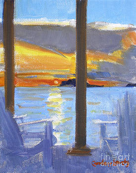 Candace Lovely - Terrace Sunset