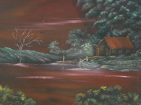 Terracotta Terrain 2 SOLD by Cynthia Adams