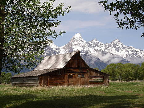 Teton Barn by Kim Baker