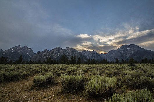 Teton Mountain Wyoming by Creative Mind Photography