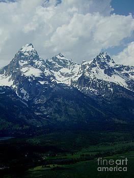 Teton Range by E B Schmidt