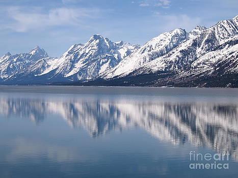 Teton Range by Randy Thornhill