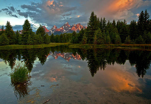 Teton Tranquility by David  Forster