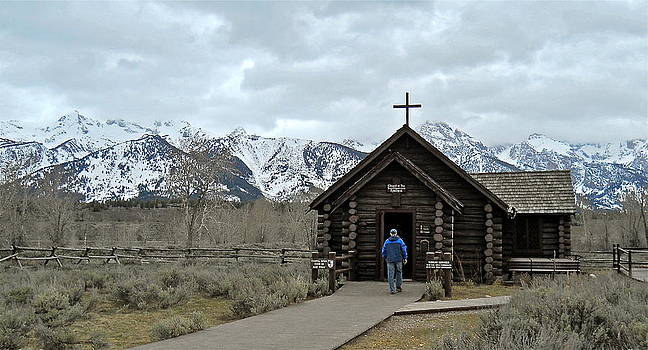 Tetons Chapel of the Transfiguration by Michele Myers