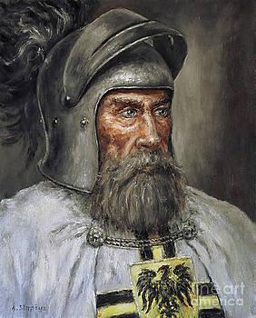 Teutonic knight by Arturas Slapsys