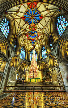 Tewkesbury At Christmas by Darren Wilkes