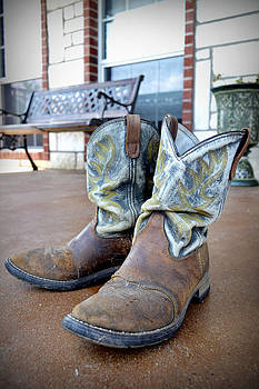 Texan Cowboy Boots by Richelle Munzon
