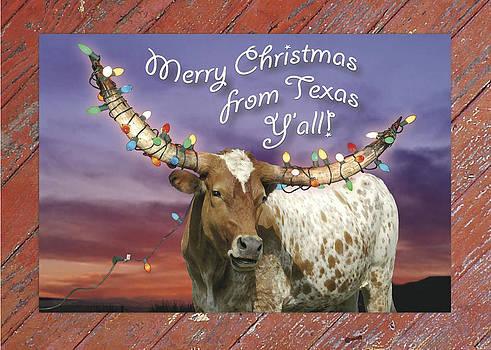 Robert Anschutz - Texas Christmas Card