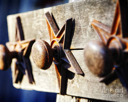 Texas Doorknob Trio by Lincoln Rogers