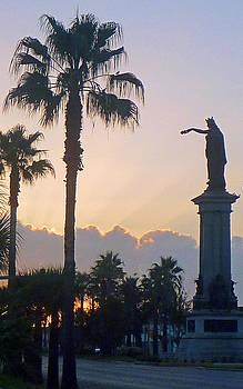 Texas Heros Monument - Galveston by John Collins
