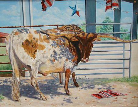 Texas Longhorn by Terrie Leyton