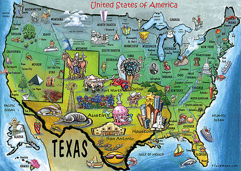 Texas USA by Kevin Middleton