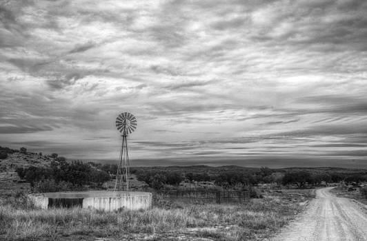 Texas Windmill by Bryan Davis