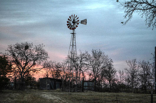 Texas Windmill by Kelly Kitchens