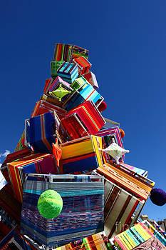 James Brunker - Textile Christmas tree