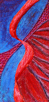 Karen Cade - Texture and Color Bas-Relief Sculpture #3