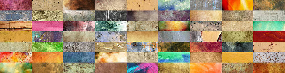Texture Collage by Taylan Apukovska