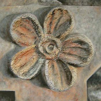 Texture Garden - Flora III by Carla E Reyes