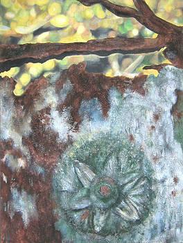 Texture Garden - Flora IV by Carla E Reyes